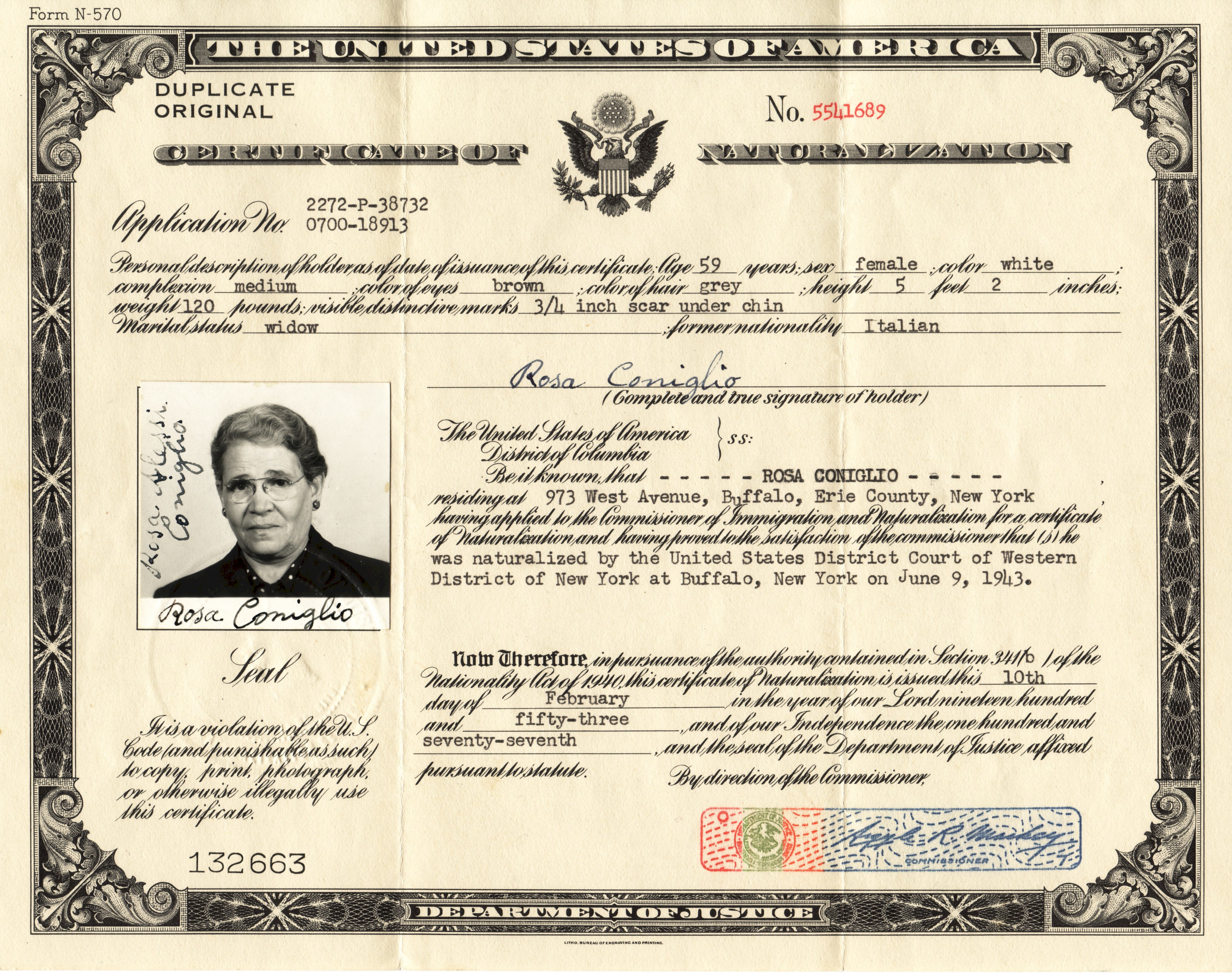 Similiar Which Is The Certificate Of Naturalization Certificate